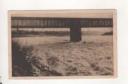 Arles Sur Rhone Le Rhone Gele 14 Fevrier 1929 Des Hommes Traversent D Un Bout A L Autre - France