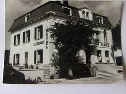 CPSM - GILLEY - Hôtel De La Gare - Propriétaire Fernier - France