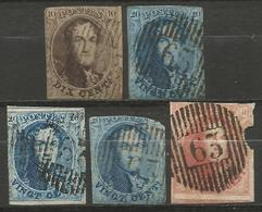 Belgique - Médaillons - Oblitérations D63 WILLEBROECK - Postmarks - Lines: Distributions