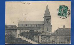 SACY    L'église    écrite En 1912 - Autres Communes