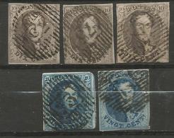 Belgique - Médaillons - Oblitérations D75 ANNEVOIE - Postmarks - Lines: Distributions