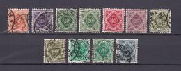 Württemberg - 1921/22 - Dienstmarken - Michel Nr. 150/157 - Ungebr./Gest. - 25 Euro - Wurtemberg