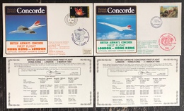 Premier Vol - Concorde - British Airways - London - Hong Kong - 1985 - Concorde