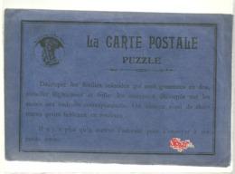 Pochette Carte Postale Puzzle 2 Planches Autocollants + 2 Cp Correspondantes + 2 Cp Avec Autocollants Posés - Illustrators & Photographers
