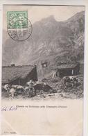 Sp- SUISSE - CHAMPERY -  Chalets De Bonaveau - Timbre - Cachet - 1905 - VS Valais