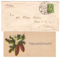 Kirbla AG Cachet On Cover,1938 - Estonie