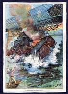 Catastrophe Ferroviaire  - La Catastrophe Des Ponts De Cé  (Maine Et Loire ) - Alte Papiere