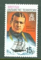 British Antarctic Territory: 1975/81   Ship Captains   SG75a     15p  [Perf: 12]    MNH - Unused Stamps