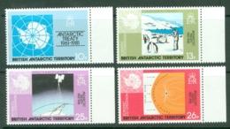 British Antarctic Territory: 1981   20th Anniv Of Antarctic Treaty    MNH - Unused Stamps