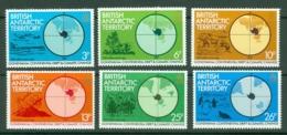 British Antarctic Territory: 1982   Gondwana - Continental Drift And Climatic Change    MNH - Unused Stamps