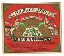 Mini Calendrier  1901 La Chicorée Extra / La Sans Rivale ( A.HAQUET.LILLE.NORD) - Calendriers