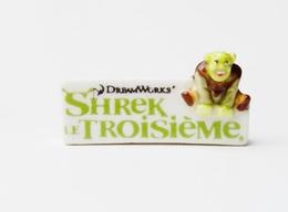 Fève Shrek Troisième  Dreamorks - Dd1702 - Geluksbrengers