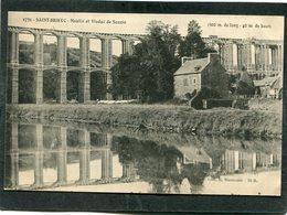 CPA - SAINT BRIEUC - Moulin Et Viaduc De Souzin - Saint-Brieuc