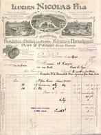 EURE - PONT ST , SAINT PIERRE - MANUFACTURE BOUCLERIES & CHAINES , FERRURES DE HARNACHEMENT - LUCIEN NICOLAS FILS - 1925 - France