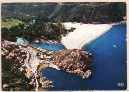X20000 CORSE PORTO Corse Sud Tour Gênoise Hotels Vue Ensemble Flamme PROPRRIANO 23.07.1976-IRIS 142 - Francia