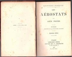 """AVIATION - """" Les AÉROSTATS """" Par Louis Viguier  ( 1887 ) - AeroAirplanes"""