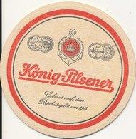 Sous-bock König-pilsner  Bi-face TBE - Sous-bocks