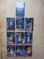 N.J. Nets Basketball Team Offical Calling Card,mint Expired,10 Cards - Stati Uniti