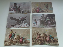 Beau Lot De 20 Cartes Postales De Fantaisie Illustrateur  Mastroianni    Mooi Lot Van 20 Postkaarten Van Fantasie - Postkaarten