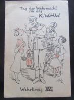 """Postkarte Propaganda Tag Der Wehrmacht - WHW """"Feldküche"""" - Allemagne"""