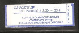France, 2614-C10, Numéroté, Carnet Neuf, Non Ouvert, TTB, Conf. 9-2, Jeux Olympiques, Carnet Marianne De Briat - Usage Courant