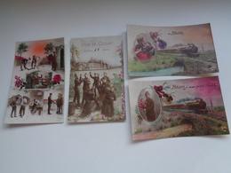 Beau Lot De 20 Cartes Postales De Fantaisie Soldats Soldat  Mooi Lot Van 20 Postkaarten Fantasie Leger Soldaten Soldaat - 5 - 99 Postkaarten