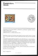 Italia/Italie/Italy: Bollettino Informativo Delle Poste, Pistoia Capitale Italiana Della Cultura, Pistoia Italian Capita - Altri