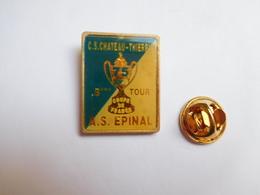 Beau Pin's , Football , Coupe De France , CS Château Thierry - AS Epinal - Football