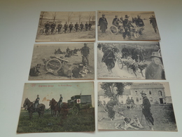 Beau Lot De 10 Cartes Postales De L' Armée Belge Soldats Soldat  Mooi Lot Van 10 Postkaarten Leger Soldaten Soldaat - 5 - 99 Postkaarten