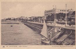 Arcachon (33) - Le Nouveau Boulevard Promenade - Arcachon