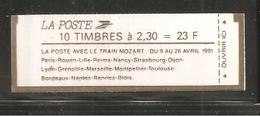 France, 2614-C11, Numéroté, Carnet Neuf, Non Ouvert, TTB, Conf. 9-3, Train Mozart, Carnet Marianne De Briat - Usage Courant