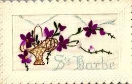 Fantaisies > Brodées / SAINTE BARBE / TTBE   /LOT  3041 - Brodées
