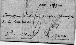 """""""Conseil Des Anciens"""",PARIS,10 Fructidor An 3,L.A.C. - Poststempel (Briefe)"""