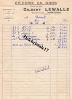 62 HÉNIN-LIÉTARD - 1957 - ÉPICERIE EN GROS GILBERT LEWALLE RUE ELIE-GRUYELLE - DEST. BINAUD - France