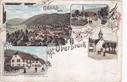 Cpa ( Litho)-68-oberbruck- Gruss Aus...-edi J. Schumpff - Andere Gemeenten