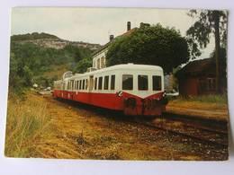 CPSM - Autorails Préservés XBD 4025 ET 4039 - Excursions Ferroviaires Du 15 Juillet 1984 à Ornans - Trains