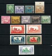 Túnez (Francés) Nº 96/9-100/9 Nuevo* - Tunisia (1888-1955)