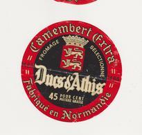 ETIQUETTE DE  CAMEMBERT DUC D ATHIS GAUTARD 14 BA - Kaas