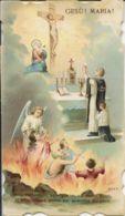 S 272 - SANTINO (CROMOLITO) - PREGHIERA PER LE ANIME PURGANTI - Religión & Esoterismo