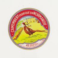 ETIQUETTE DE CAMEMBERT PRAIRIES DE L ORNE 61 K - Kaas