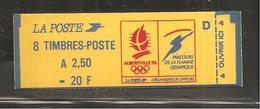 France, 2715-C1, Numéroté, Carnet Neuf, Non Ouvert,TTB, Conf. 9, Albertville 92, Carnet Marianne De Briat - Usage Courant