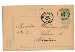 Menin  Stempel Rumes - 1906 - Postmark Collection