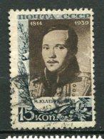 RUSSIE -  Yv N° 752    (o)  15k  Lermontov  Cote  1  Euro  BE - 1923-1991 URSS