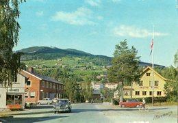 < Automobile Auto Voiture Car >> Volvo 121, Austin A30, Gol, Hallingdal Norge Norvège Norway, Normann E-7-15 - Turismo