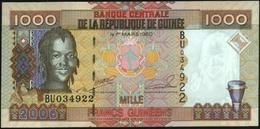 GUINEA - 1.000 Francs 2006 UNC P.40 - Guinée