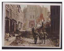 Dt.-Reich (004506) Sammelbild, Der Weltkrieg (1917), NR 128, Kathedrale In St. Quentin - Germany