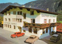 < Automobile Auto Voiture Car >> Volvo 121, Opel Rekord, Gasthof Dollinger, Tarrenz Tirol - PKW