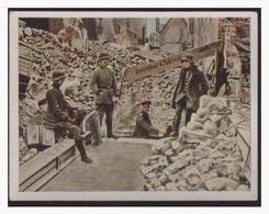 Dt.-Reich (004510) Sammelbild, Der Weltkrieg (1917), NR 140, Heldenkellerin St. Quentin - Germany