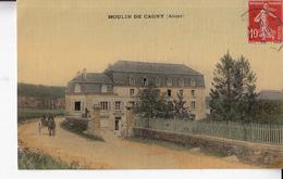 02- Environs De Vic Sur Aisne Moulin De Cagny Carte Toilee - Autres Communes