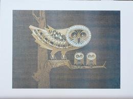Comité D'aide Aux Grands Malades Des P.T.T. - 11 Reproductions De Tableaux (Sisley, Gauguin, Corot, Courbet...) - Oils
